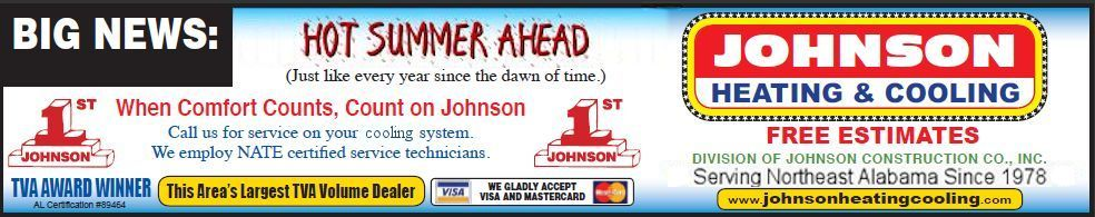 Hot Summer Ahead - prepare with Johnson Heating & Cooling
